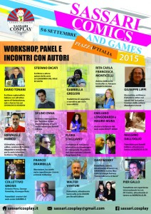 Panel Sassari Comics and Games 2015